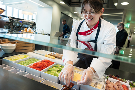 Cafeteria to Expand Fresh, Never Frozen Food Options
