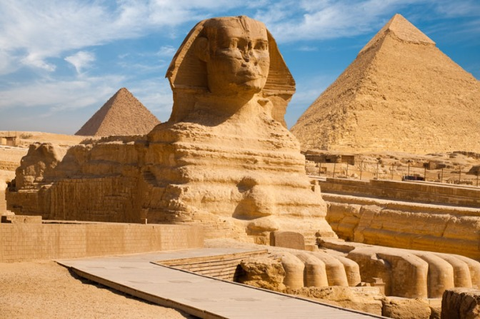 Great Sphinx's Missing Nose Found Up Delta Sig's Ass